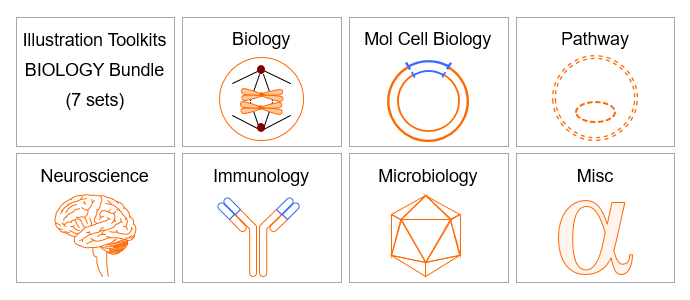 PowerPoint Drawing Toolkits - Biology Bundle