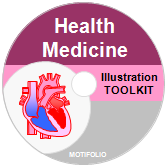 PowerPoint Drawing Toolkit Health Medicine