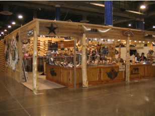M.P. & K.D. Trade Show Booth