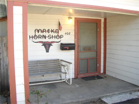 A picture of our shop.