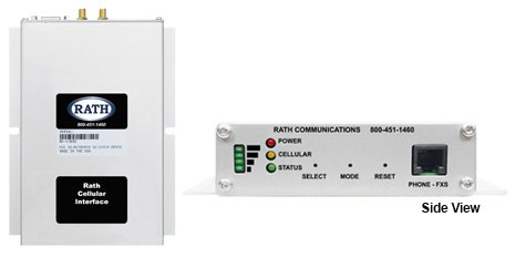 2010 Code Compliant Cellular Interface Unit for both GSM & CDMA Elevator phones