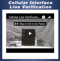 Cellular Interface Line Verification Video