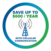 Save up to $600/year with Cellular Communication