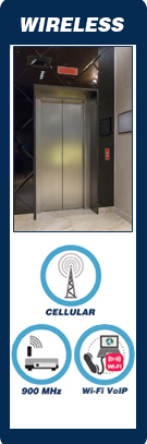 Wireless Elevator Phones