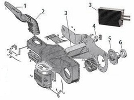 jeep cj5 parts, jeep cj7 parts, cj8 scrambler parts from ... cj7 heater diagram #6