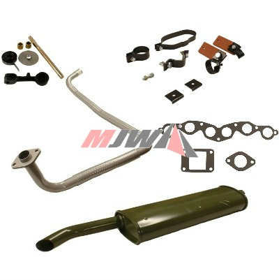 MB & GPW Exhaust Parts
