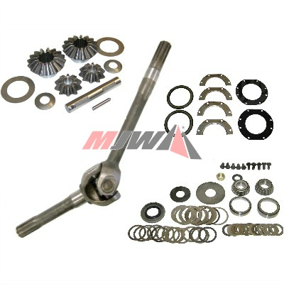 MB & GPW Front Axle Parts