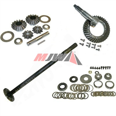 MB & GPW Rear Axle Parts