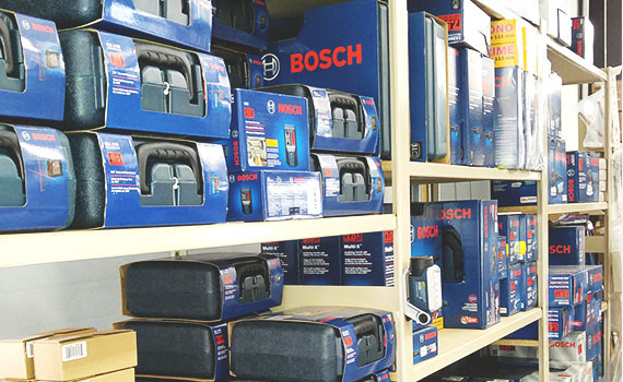 We carry only the highest quality products, from brand names you can trust