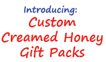 Custom Build Your Own Creamed Honey Gift Pack