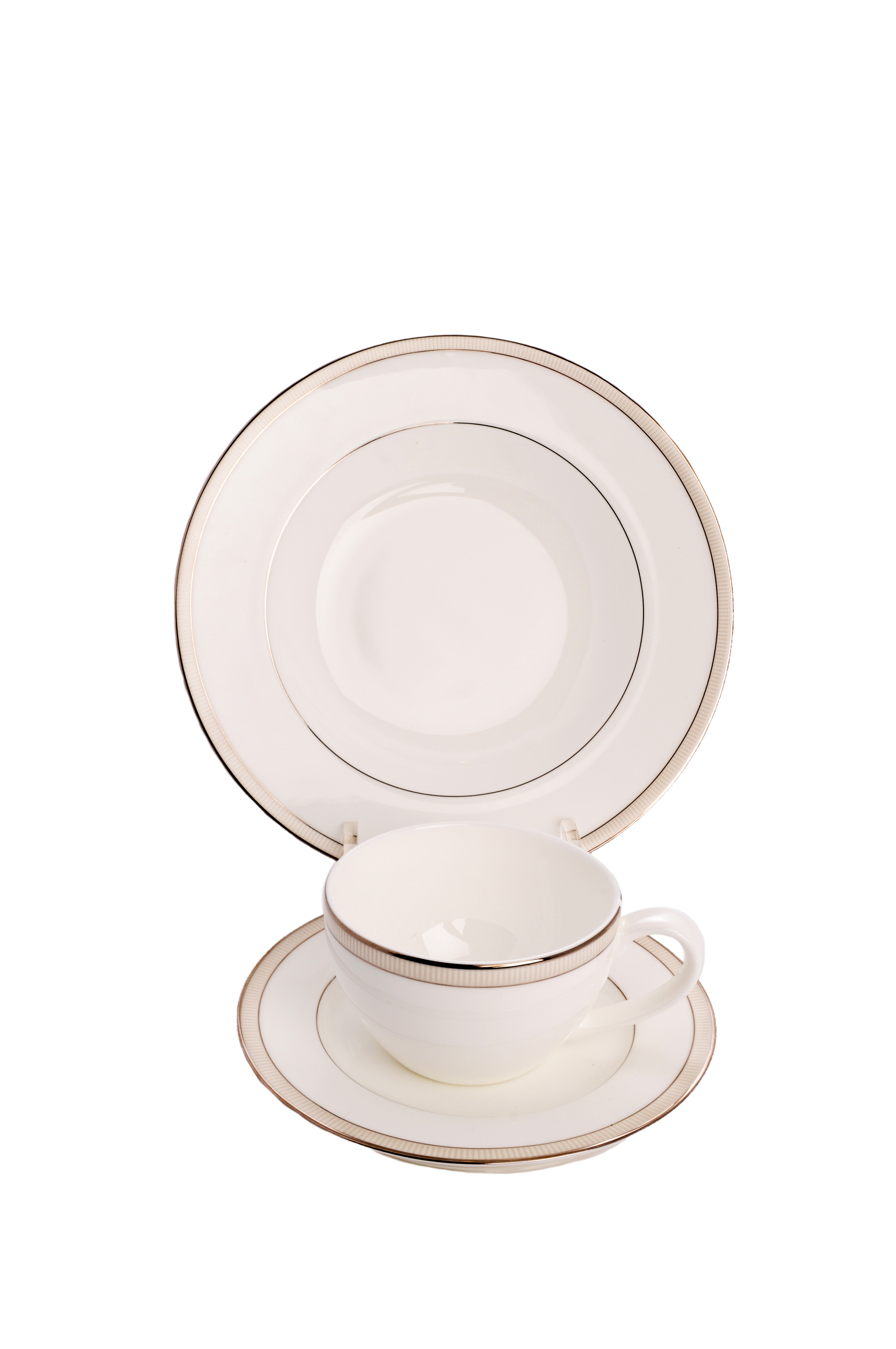 $20.80 each  sc 1 st  THB Products LLC & Clear Acrylic 3 Piece Dinnerware / China / Place Setting Display ...