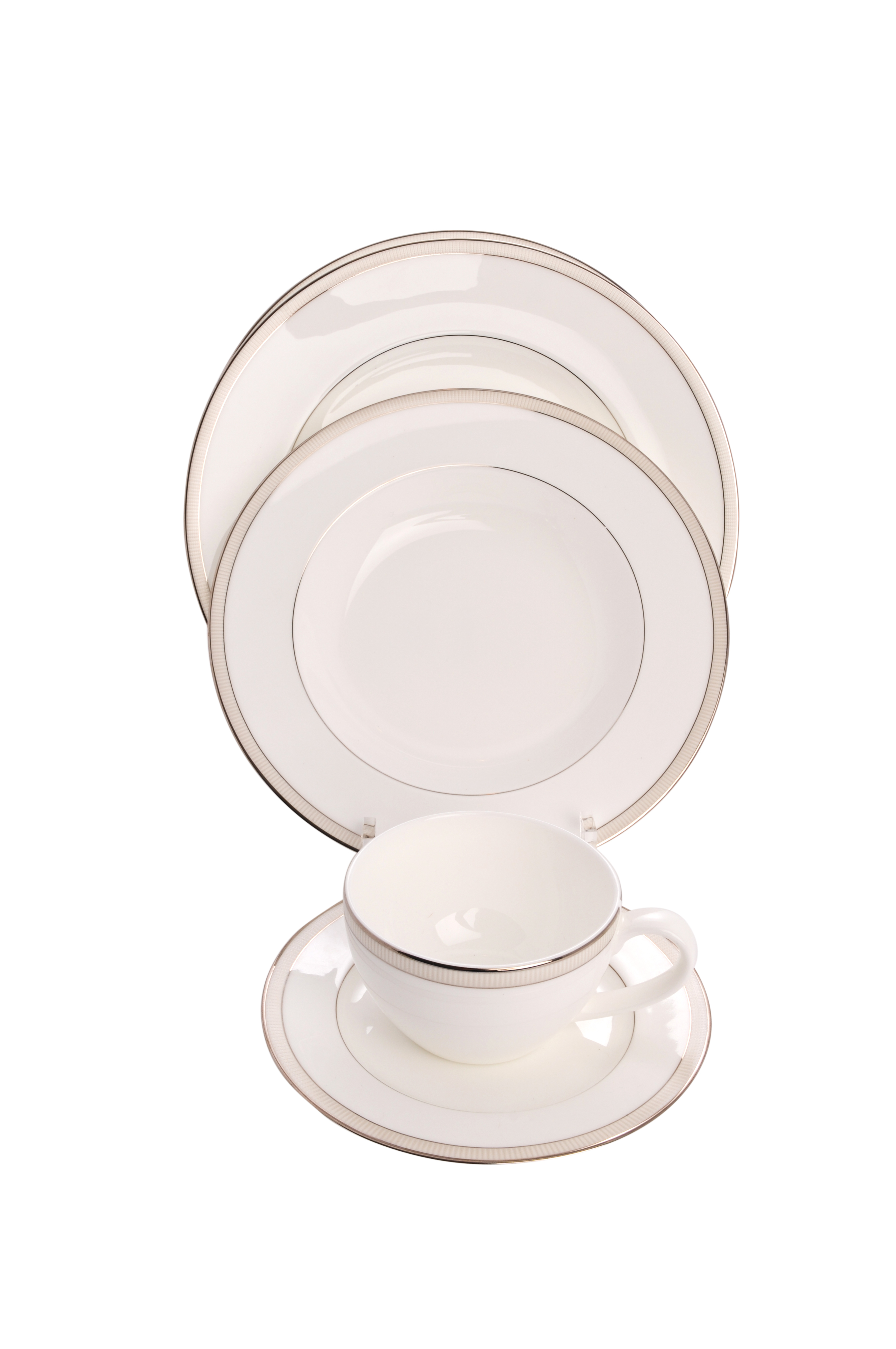 $25.40 each  sc 1 st  THB Products LLC & Clear Acrylic 5 Piece Dinnerware / China / Place Setting with a Bowl ...