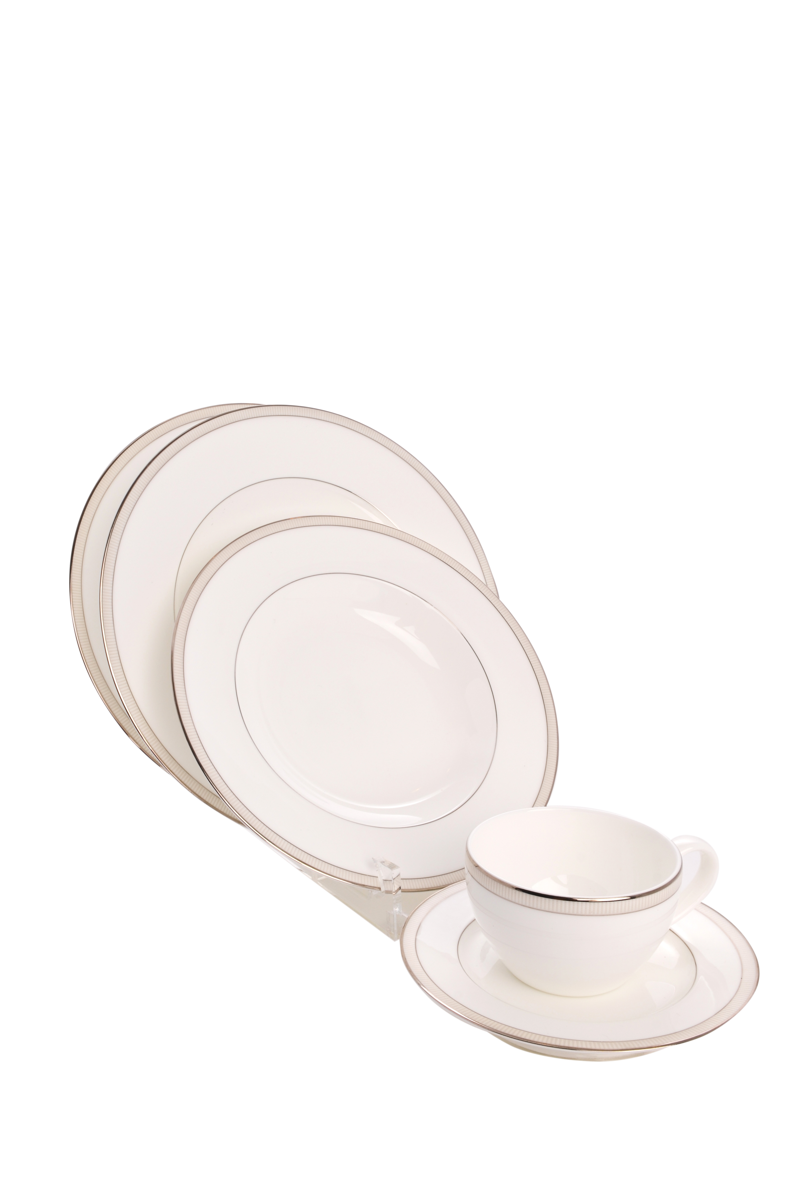 Clear Acrylic 5 Piece Dinnerware / China / Place Setting with a Bowl Display Stand (Item #769)  sc 1 st  THB Products LLC & Clear Acrylic 5 Piece Dinnerware / China / Place Setting with a Bowl ...
