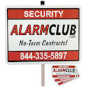 AlarmClub Security Yard Signs and Decals!