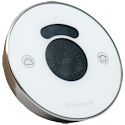 Honeywell Lyric Round WiFi-Enabled Smart Thermostat Tilted Angle View