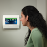 Honeywell Lynx Touch L7000 Wall-Mounted Installation by AlarmClub Security!