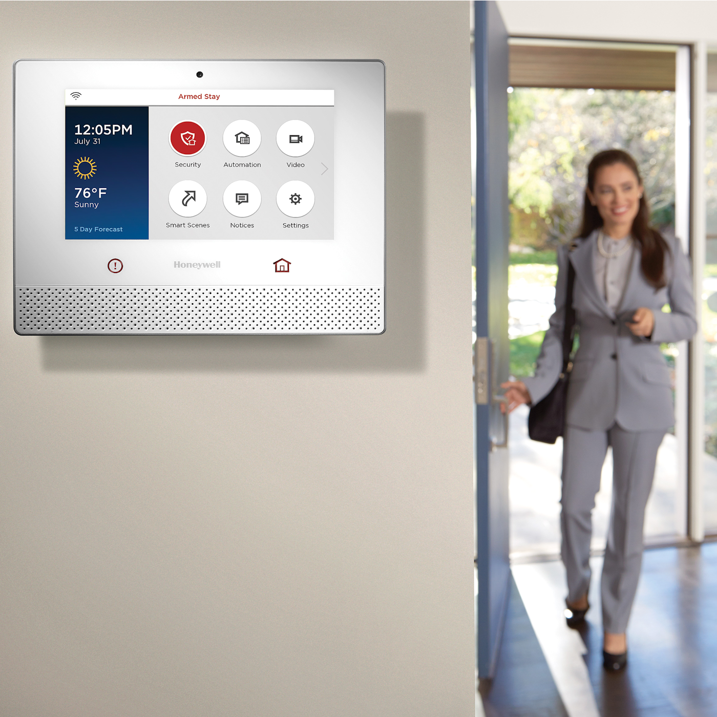 Delightful ... LCP500 L Honeywell Lyric Controller Wall Mounted Installation Amazing Design
