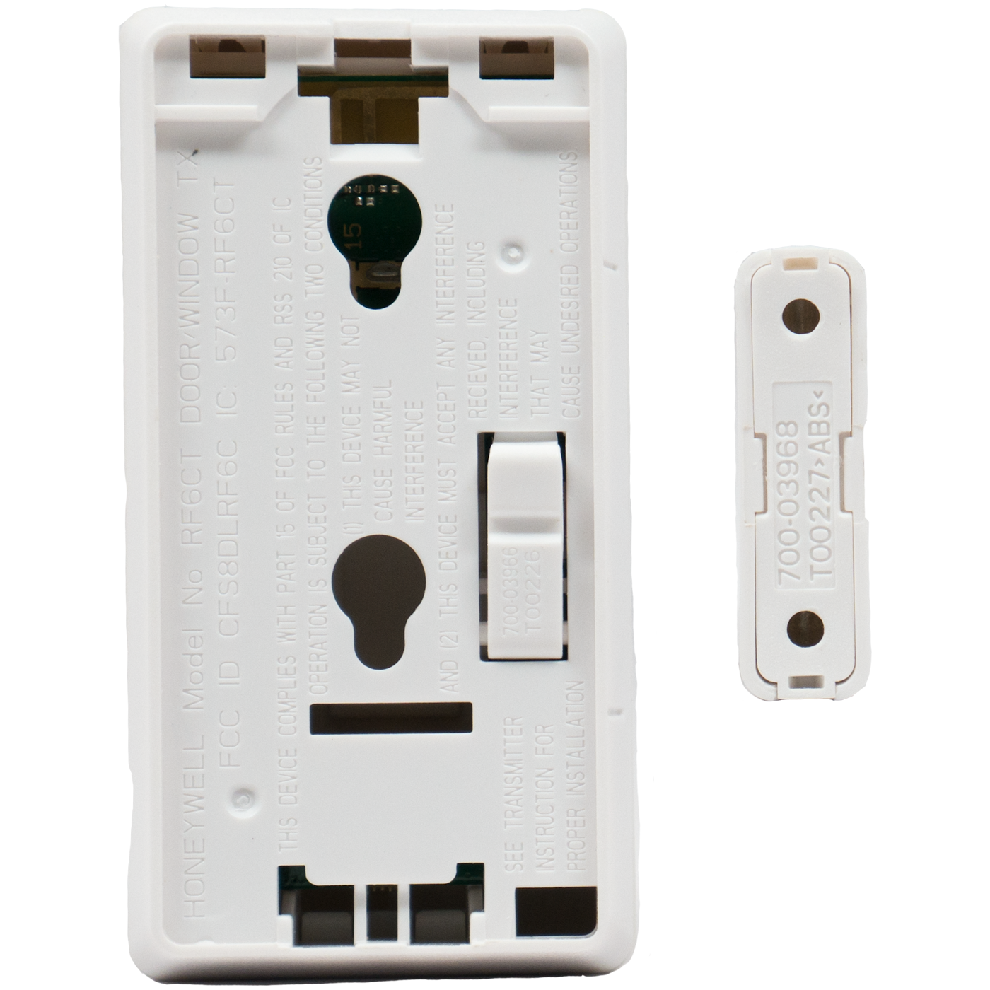Alarm Contacts For Hung Windows : Honeywell sixct wireless door window contact for lyric