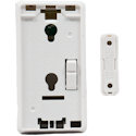 Honeywell SiXCT Wireless Door & Window Alarm Contact Profile Back View