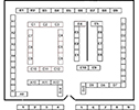 Toycon Tables Map