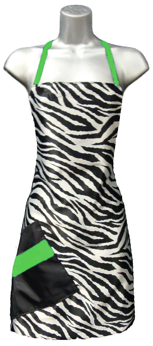 Zebra-cute-salon-apron