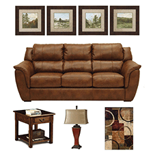 Designer Select Cozy Lodge Living Room Suite