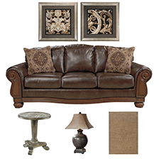 Designer Select Victorian Rustic Living Room Suite