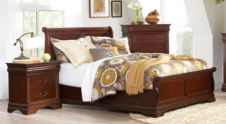 Beau Largo Chateau Low Profile Bed