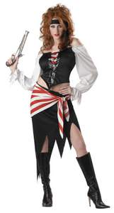 women's ruby pirate costume