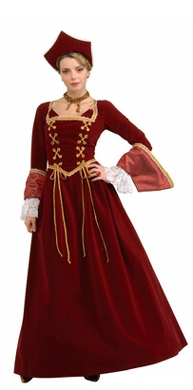 womens anne boleyn costume