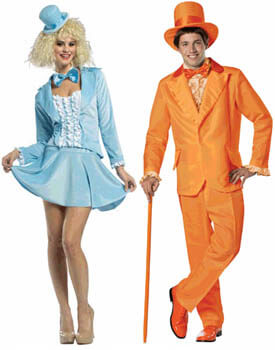 harry and lloyd couple costumes