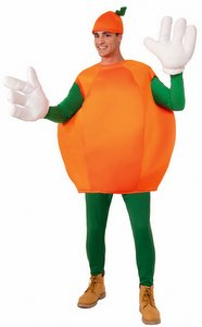 adult orange fruit costume