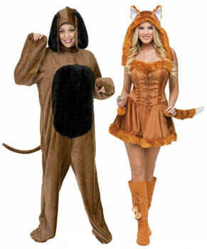 fox and the hound costumes couples costume ideas group costumes for halloween