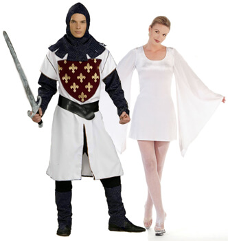 galahad and zoot couple costumes