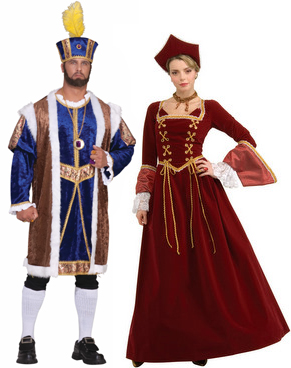 henry viii and anne bolyen couple costumes  sc 1 st  Candy Apple Costumes & Couple u0026 Group Costumes - Best Costumes for Couples