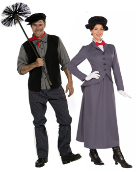 mary poppins couple costumes  sc 1 st  Candy Apple Costumes : mary poppins costume idea  - Germanpascual.Com