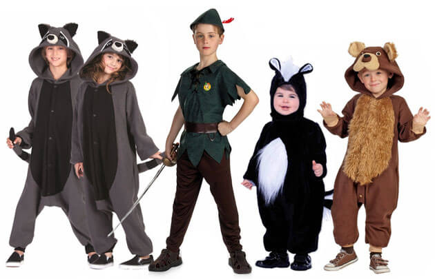 peter pan and lost boys costumes