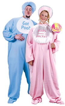 adult baby pajamas plus size couple costumes
