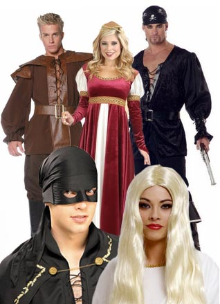 princess bride costumes  sc 1 st  Candy Apple Costumes & Couples Costume Ideas - Group Costumes for Halloween