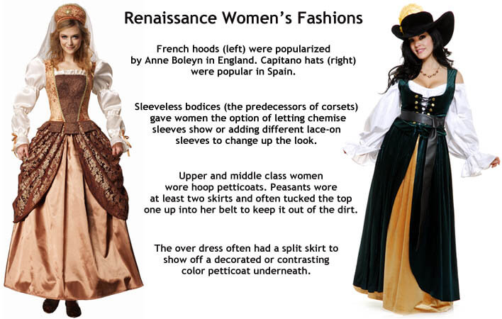 renaissance costumes for women