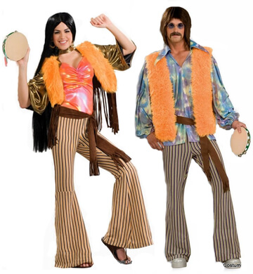 sonny and cher couple costume