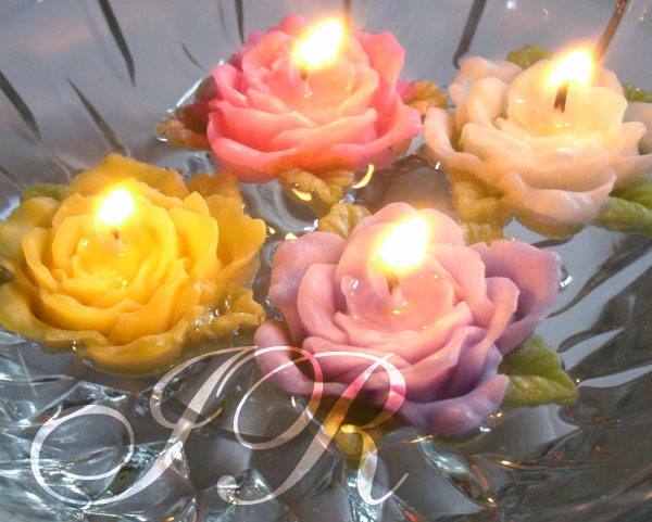 Buy flower floating candles and get free shipping on ...