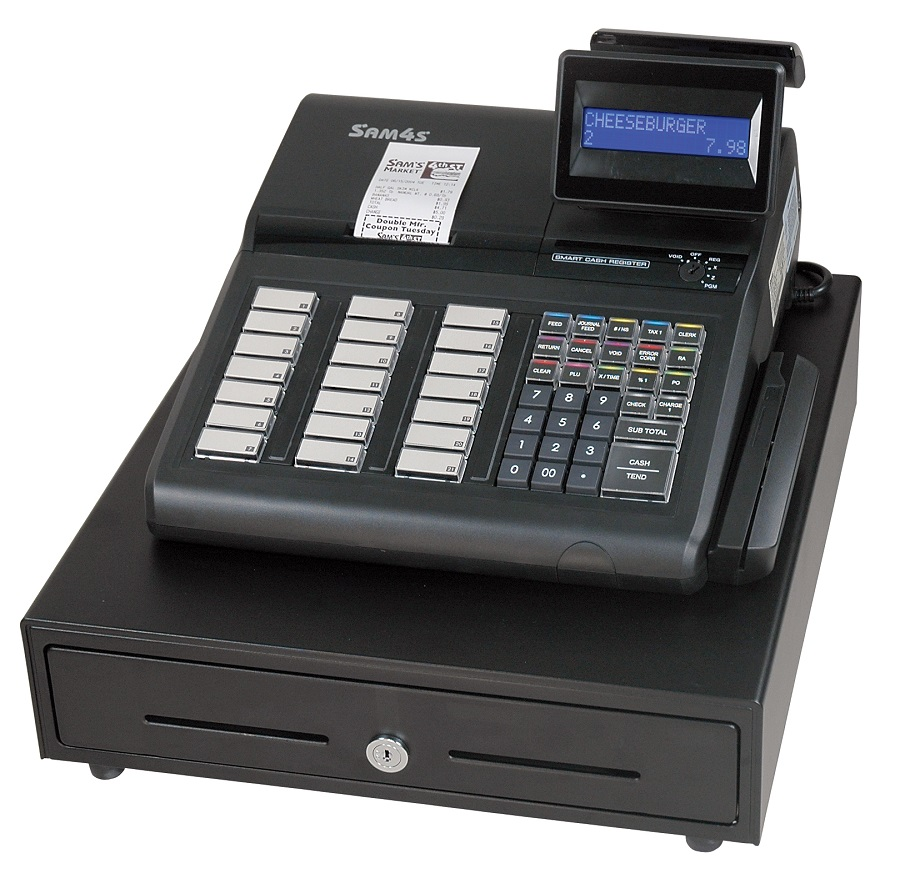 The SAM4s ER-925 Cash Register
