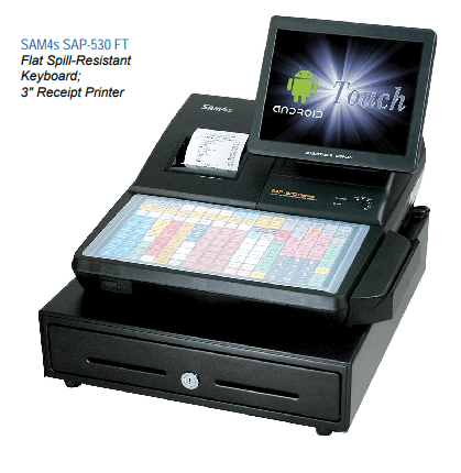SAM4s SAP-530F Android cash register