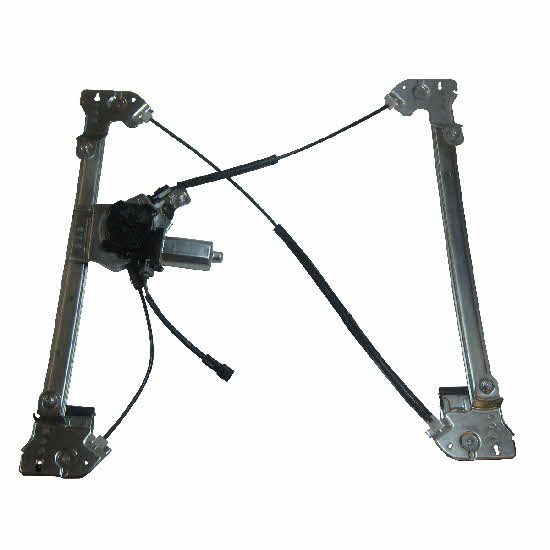2004-2007 ford f150 supercab rh front passenger side power window regulator assembly