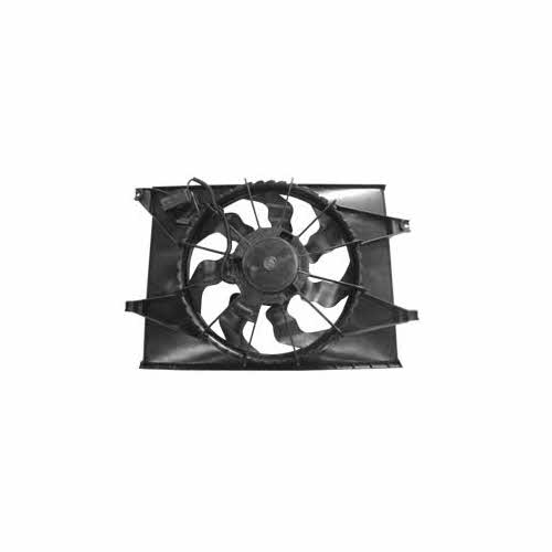 radiator and condenser fan assembly for 2010-2011 kia soul 2.0l