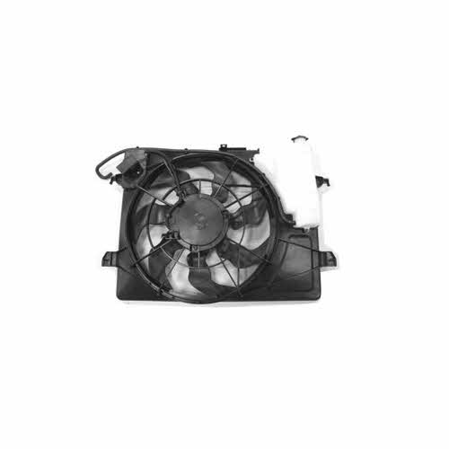 radiator and condenser fan assembly for 2010-2012 kia forte