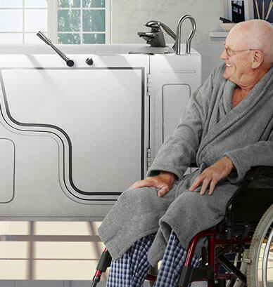 Click Here For Examples Of Bath Installations Done By All In One Mobility