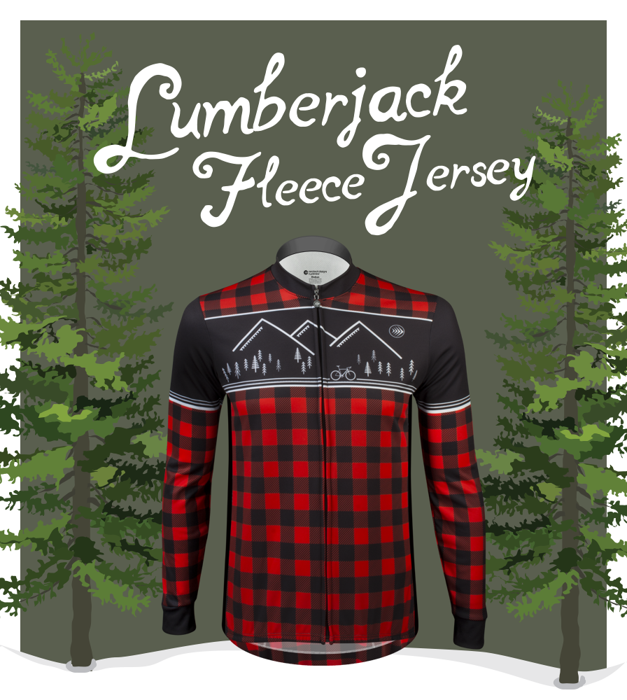 Lumberjack Fleece Bike Jersey