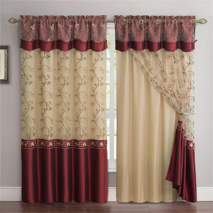 any size carmen embroidered curtain